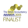 British Accountancy Awards 2013 finalist