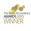 British Accountancy Awards 2015 winner